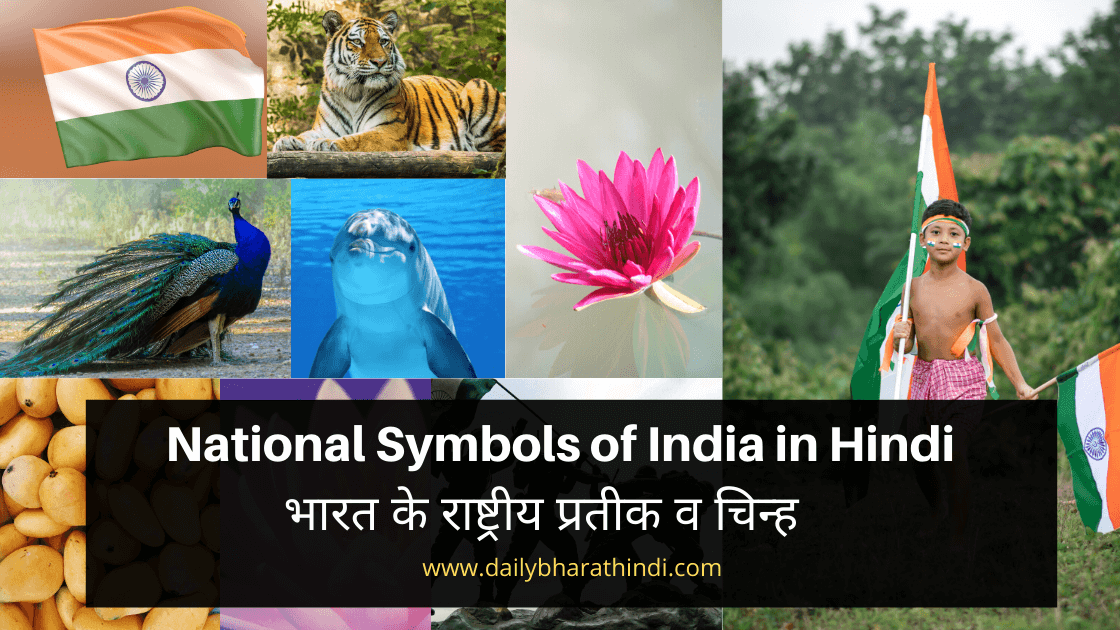 NAtional symbols of india in hindi