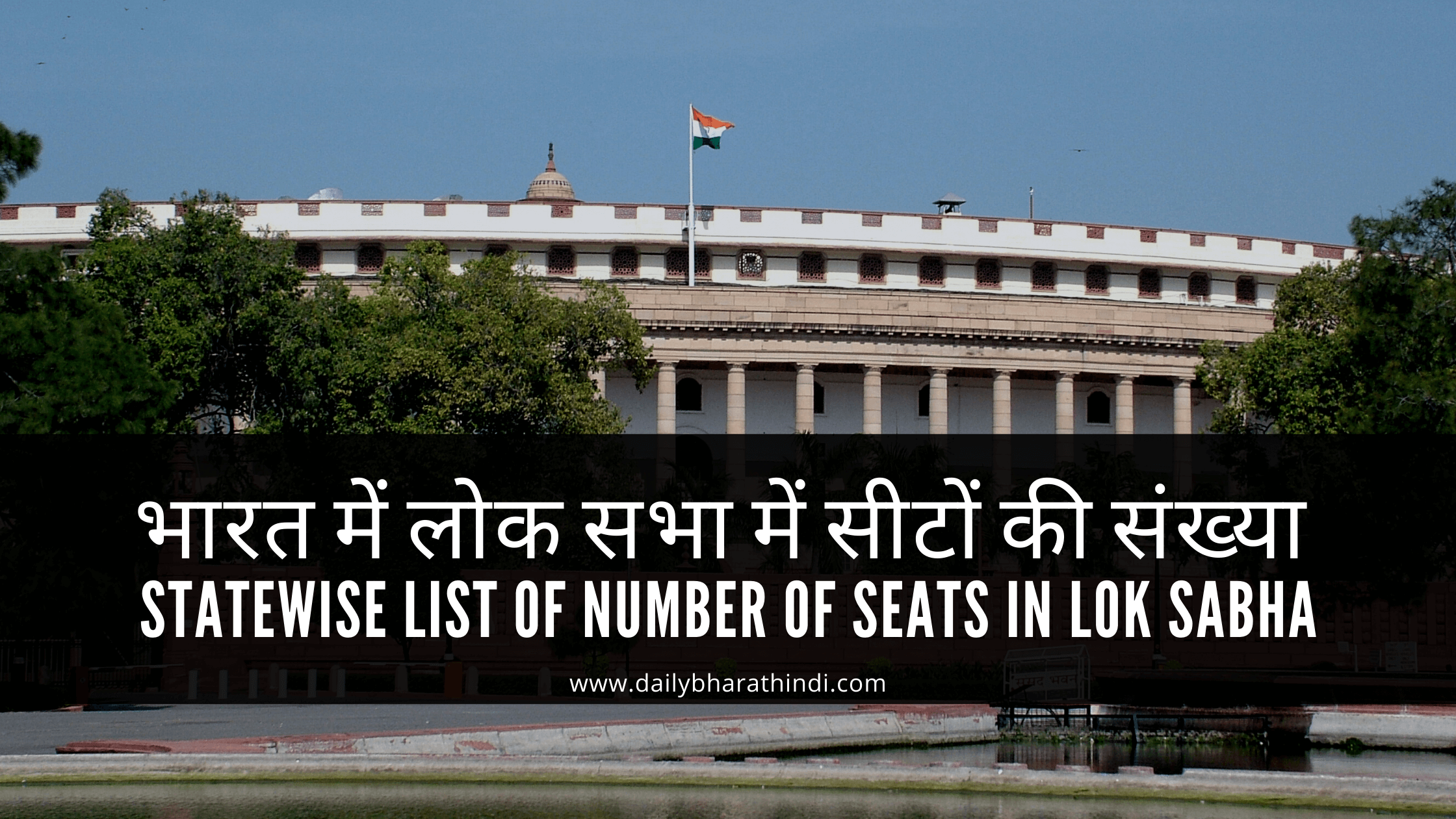 lok sabha seats in india